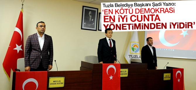 """Şadi Yazıcı: """"En kötü demokrasi en iyi cunta yönetiminden iyidir"""""""