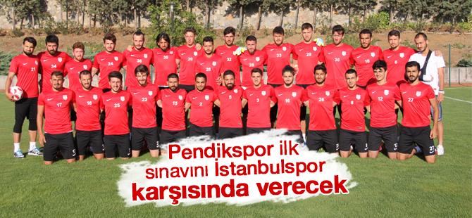 Pendikspor İlk Sınavını İstanbulspor karşısında  verecek