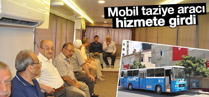 Mobil Taziye Aracı Pendik'te Hizmete Girdi