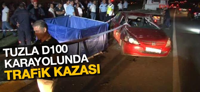 Tuzla D100 Karayolunda trafik kazası: 4 kişi yaralandı