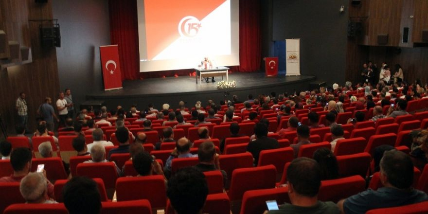 İpekyolu Belediyesinden '15 Temmuz' konferansı