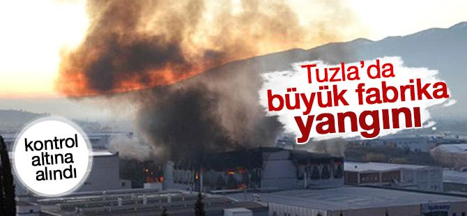 Tuzla'da Büyük Fabrika Yangını!