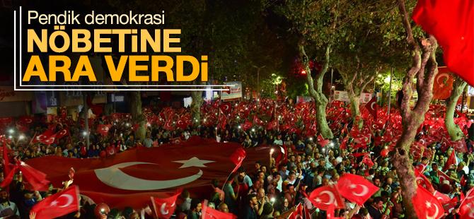 Pendik 26 Günlük Demokrasi Nöbetine Ara Verdi