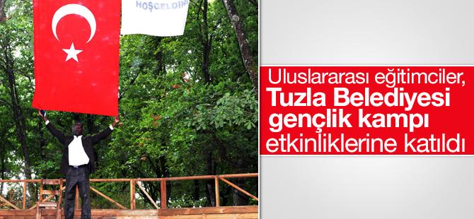 Uluslararası Eğitimciler, Tuzla Belediyesi Gençlik Kampı Etkinliklerine Katıldı