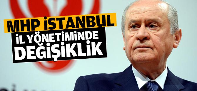MHP İstanbul İl Yönetiminde Değişiklik
