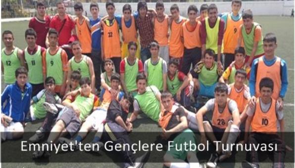 Emniyet´ten Gençlere Futbol Turnuvası