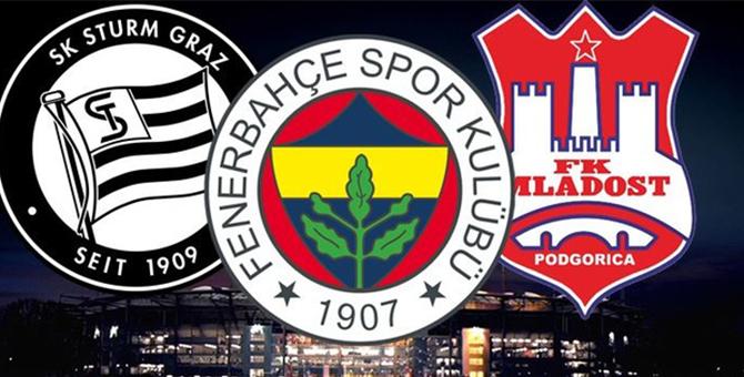 Fenerbahçe Sturm Graz maçı ne zaman? hangi kanalda?