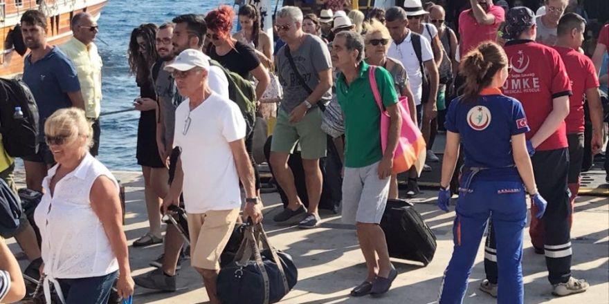 180 kişi daha Kos Adası'ndan Bodrum'a geldi