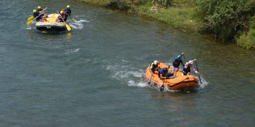 Türkiye Rafting Şampiyonası devam ediyor
