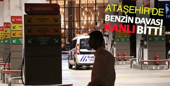 Ataşehir'de 'yakıt' kavgası kanlı bitti: 2 yaralı