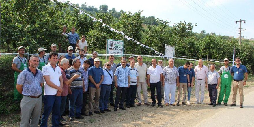 Ferrero Fındık çiftçileri bilgilendirmeye devam ediyor