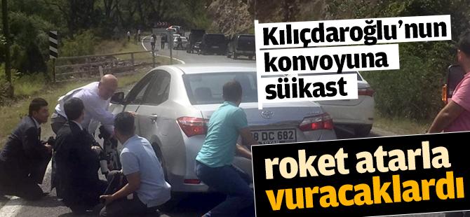 CHP Lideri Kılıçdaroğlu'nun Konvoyuna Süikast Girişimi
