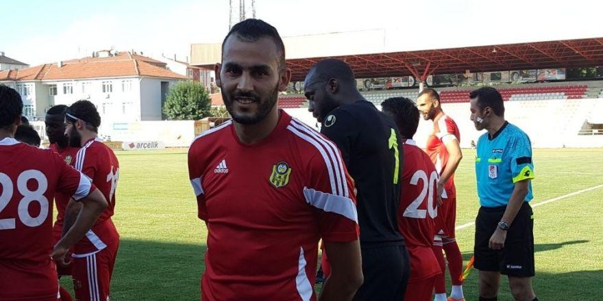 Evkur Yeni Malatyaspor hazırlık maçında Boluspor'u 2-0 yendi
