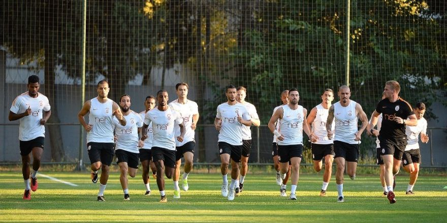 Galatasaray, yeni sezon hazırlıklarına devam etti