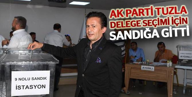 Ak Parti Tuzla Delege Seçimi İçin Sandığa Gitti