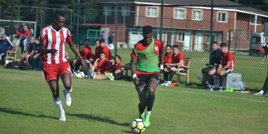 Gaziantep Futbol Kulübü ikinci hazırlık maçında berabere kaldı