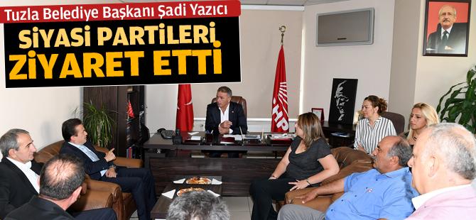Başkan Yazıcı'dan Siyasi Partilere Ziyaret