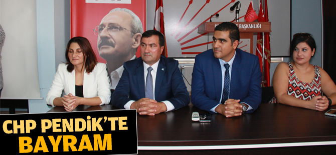 CHP Pendik'te Bayram