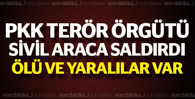 PKK'dan hain saldırı