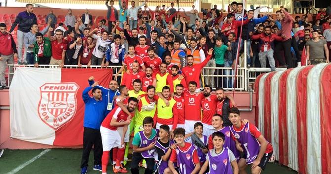 2. Lig Derbisinin kazananı Pendikspor