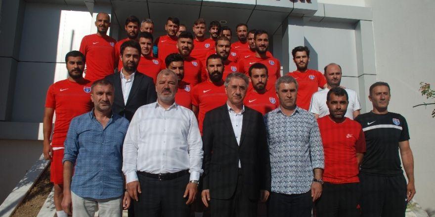 Elaziz Belediyespor'da toplu imza töreni