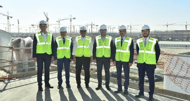 Belediye Başkanlarından 3. Havaalanı'na Ziyaret