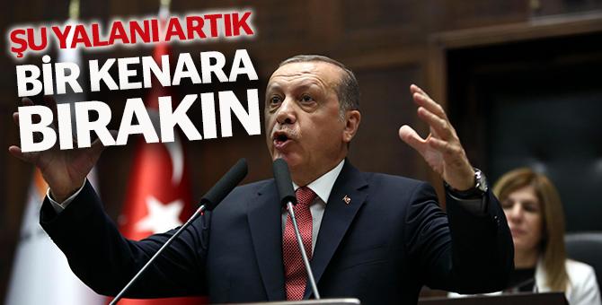 Cumhurbaşkanı Erdoğan AKP Grup Toplantısında