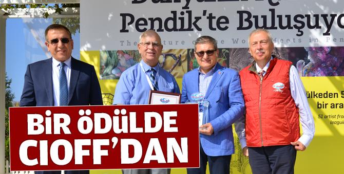 Pendik Belediyesine Kültür Ödülü