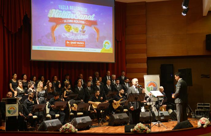 Tuzla Belediyesi Kültür Sanat Sezonu Açıldı