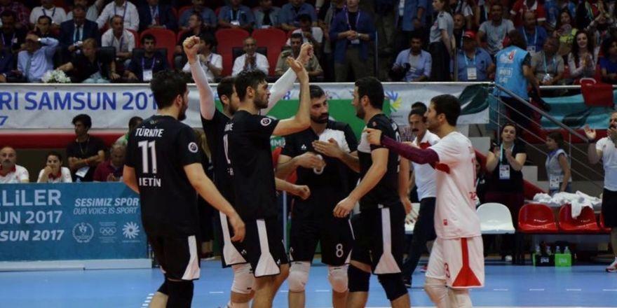 Türkiye voleybolda finale yükseldi