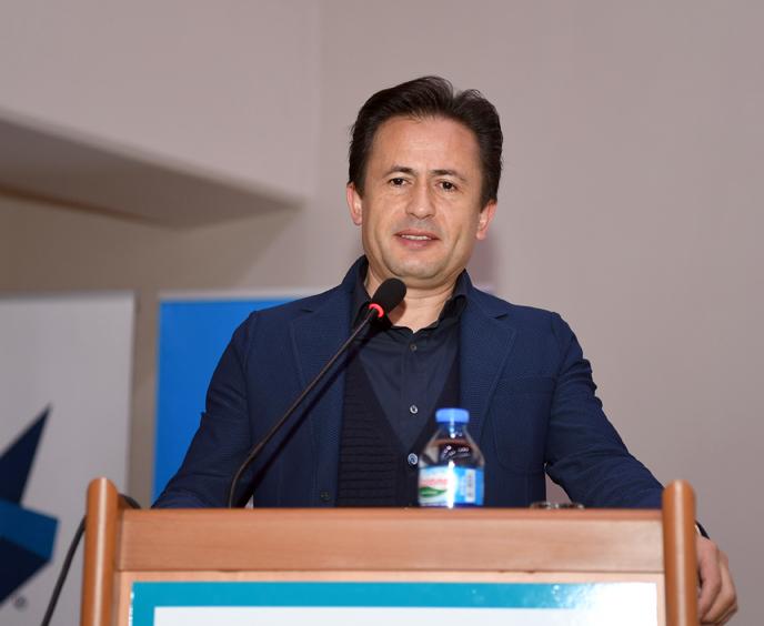 Başkan Yazıcı 'Tuzla'da Eğitim Yöneticileri Okuyor'a' konuk oldu