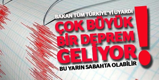 Tüm Türkiye Dikkat! Deprem Geliyor
