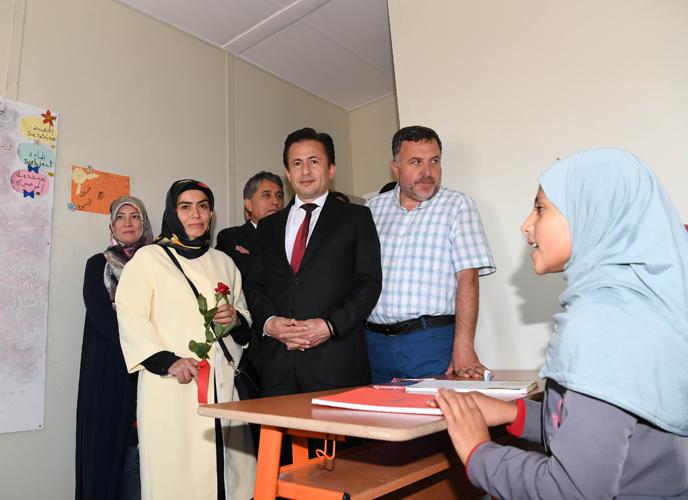 Başkan Yazıcı ve Eşi, Tuzla'dan Hatay'a Gönül Köprüsü Kurdu
