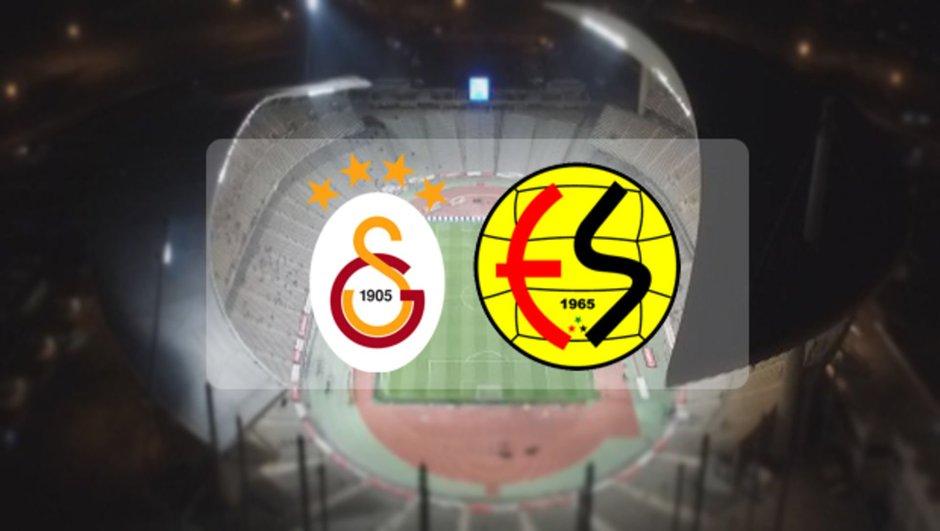 Avrupa'dan elenen Galatasaray hazırlık maçında Eskişehirspor'u yendi!