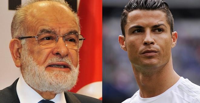 Saadet Partisi'nden Cristiano Ronaldo'ya davet