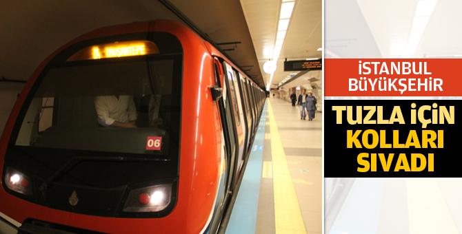 İstanbul Büyükşehir Tuzla Metrosu için kolları sıvadı