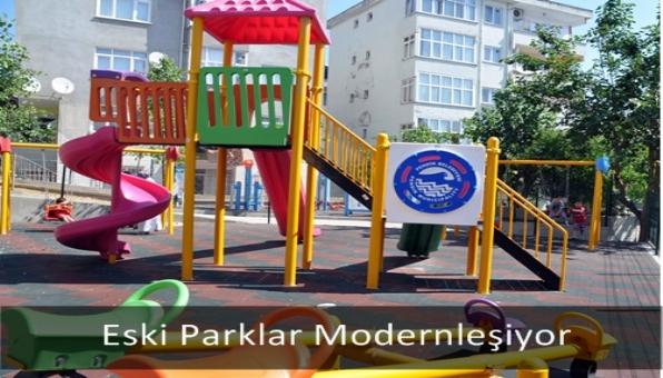 Eski Parklar Modernleşiyor
