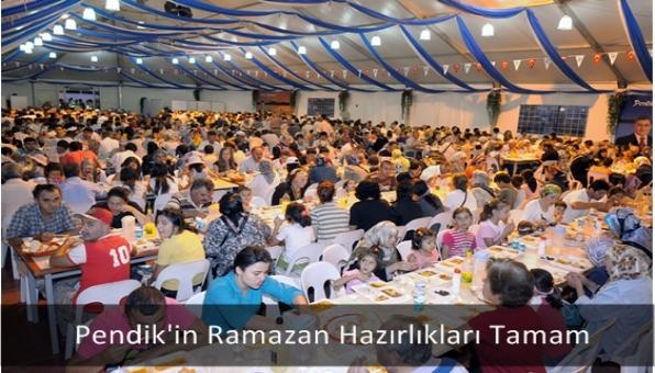 Pendik´in Ramazan Hazırlıkları Tamam