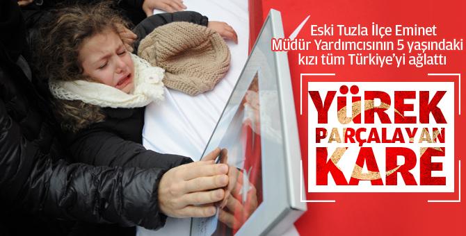 Şehit Karakurdu'nun 5 yaşındaki kızı Türkiye'yi ağlattı!