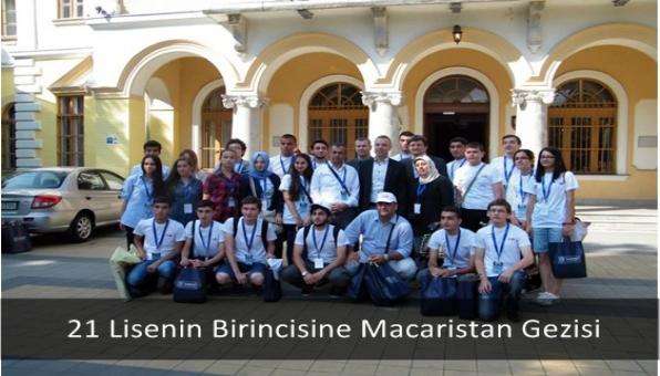 21 Lisenin Birincisine Macaristan Gezisi