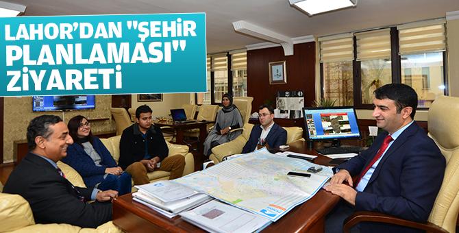 """Lahor'dan """"şehir Planlaması"""" Ziyareti"""