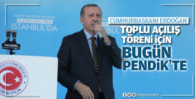 Cumhurbaşkanı Recep Tayyip Erdoğan bugün Pendik'te - 21 Ocak