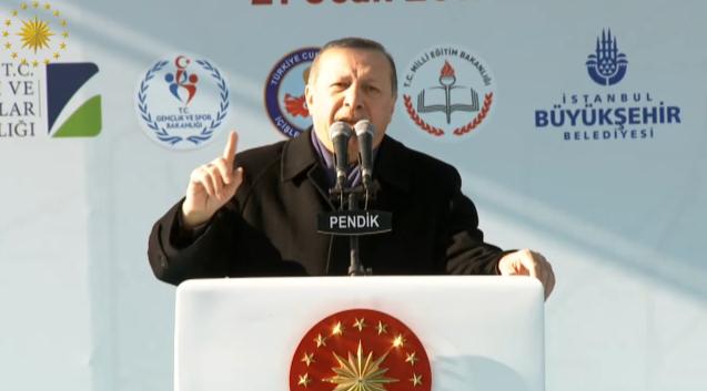 Cumhurbaşkanı Erdoğan Pendik Konuşması