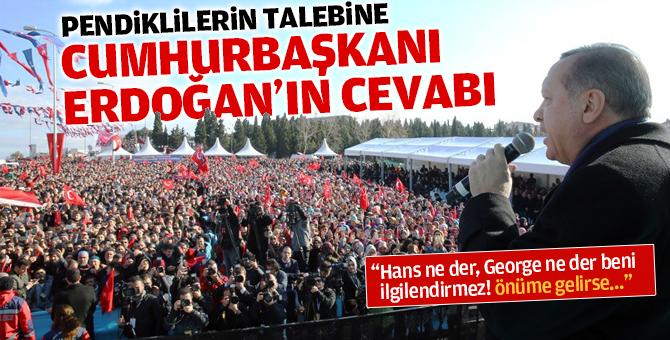 Pendiklilerden Cumhurbaşkanı Erdoğan'a idam talebi!