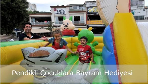 Belediyeden çocuklara Bayram hediyesi