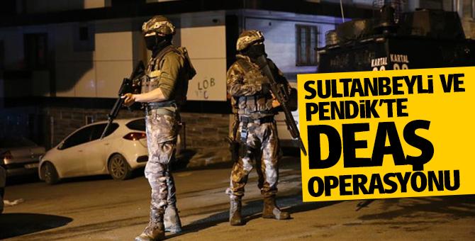 Sultanbeyli ve Pendik'te 35 DEAŞ şüphelisi gözaltına alındı