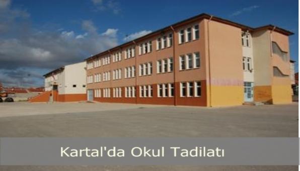 Kartal´da Okullar Yeni Eğitim Dönemine Hazılanıyor