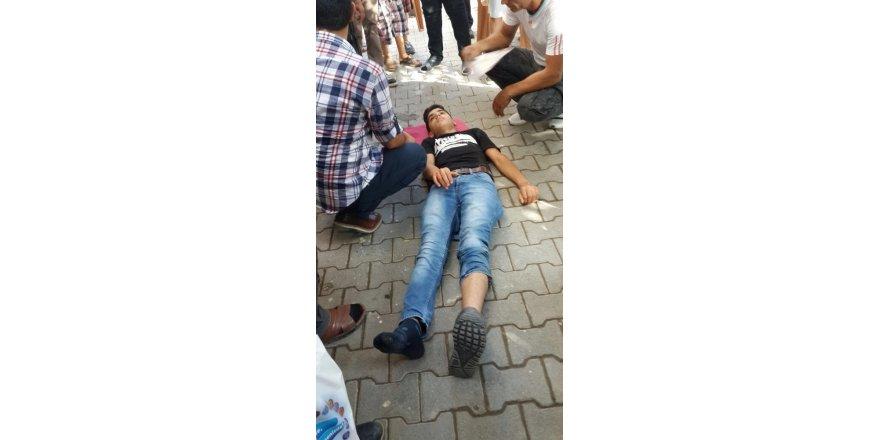 Iğdır'da trafik kazası: 1 yaralı
