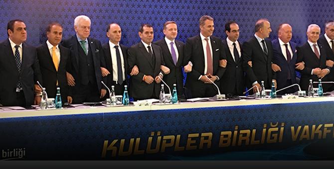 Kulüpler Birliği yeni başkanı Dursun Özbek!