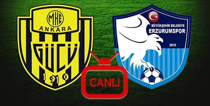 Ankaragücü Erzurumspor Maçı Canlı 11.08.2017